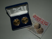Two 1933 Double Eagle Proof Liberty U.s. Gold Coin Tribute Coins