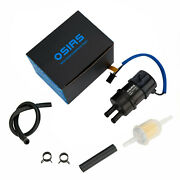 Osias Fuel Pump For Kawasaki Zx900 Ninja Zx9r 1998-2003 12v 10mm In/outlet