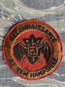 Theater Vietnam Special Forces Macv Sog Airborne Rt New Hampshire Recon Patch