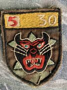 Theater Vietnam Special Forces Macv Sog Lldb Arvn Tiger Force Camo Patch
