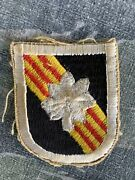 Vietnam War 5th Special Forces Green Beret Macv Sog Colonel Flash Patch