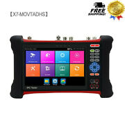 X7-movtadhs Ipc Tester Network+analog + Cable Tracker + Hdmi Input Output + 8mp