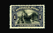 Us Stamp, Canal Zone/panama Mint Og And H, Vf S59 Pf Certificate, Hinged With A T