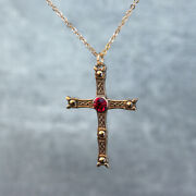 Staffordshire Hoard Inspired Pendant Cross Early Anglo Saxon Christianity