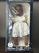 17andrdquo Vintage African American Gerber Baby Girl Doll
