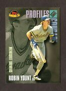 2001 Topps Profiles In Courage Card 14 Robin Yount Milwaukee Brewers F28195