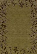 10x13 Sphinx Vines Green Casual Leaves 40 Area Rug - Approx 9and039 10and039and039 X 12and039 9and039and039