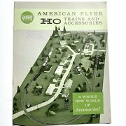 Vintage Gilbert • American Flyer • Ho Trains And Accessories Catalog