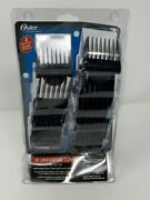 Oster Universal Clip On Comb Guard Attachments 10pc Set Kit 76926-900