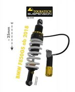 Touratech Suspension Front Lowering Strut Rear -25mm For Bmw F850gs Since 2018