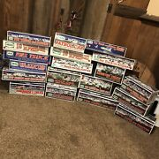 16 Piece Hess Toy Truck Collection Ranging From 1992 - 2013 All New In Box