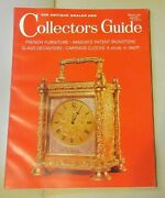 The Antique Dealer And Collectors Guide March 1971 - Carriage Clocks