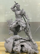 New Arkham 1/4 Deathstroke Statue Unpainted Gk Modle Limited Edition In Stock