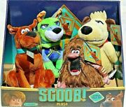 Scoob Scooby-doo Movie 6 Plush Set Of 4 Muttley Captain Cave Man Dynomutt 2020