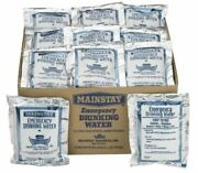 Mainstay Emergency Drinking Water Pouches 4.225 Oz 60 Pack , Free Shipping