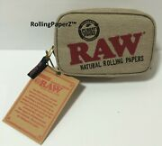Small Raw Rolling Papers Smell Odor Proof Zipper Smokers Pouch