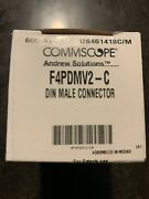 Commscope Andrews Solutions Din Male Connector Pn F4pdmv2-c