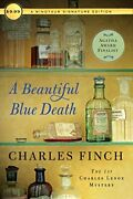 A Beautiful Blue Death The First Charles Lenox Mystery Ch... By Finch, Charles