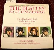 The Beatles Recording Sessions By Lewisohn, Mark Book The Fast Free Shipping