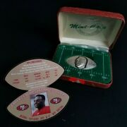 Jerry Rice San Francisco 49ers, Raiders 999 Fine Silver Round Highland Mint Coin