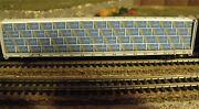 N Scale Centerbeam Lumber Load Domtar  2 Pcs