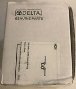 Delta Faucet Small Lever Handle Bases Polished Chrome H24 Nos Complete