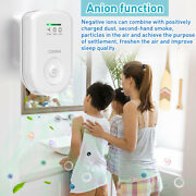 Us Plug Air Purifier For Home Odor Eliminator Ozone Cleaner Mini Air Ionizer New