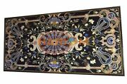 30x55 Marble Counter Top Dining Table Pietra Dura Inlay Decor Furniture B494