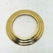 Serdaneli Outer Rose Trim Only For Entry Or Privacy Polish Brass Each No Insert