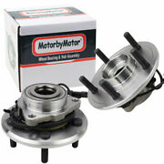 Pair 2 Front Wheel Bearing And Hub For 2012 2013 2014-2018 Dodge Ram 1500 W/abs