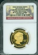 2015-w 10 Gold Spouse Mamie Eisenhower Ngc Pf70 Pr70 Early Releases Er