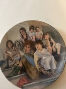 America's Oldest 1854 Edwin M. Knowles Annie Collectible Plates