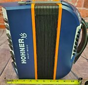 Used Hohner Xs Childrens Piano Kids Accordion German Made Worldship Auth Dealer