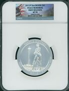 2013-p Perry's Victory Peace Memorial Atb 5 Oz Silver Ngc Sp70 First Releases Fr