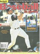 Beckett Baseball Card Monthly Magazine May 2001 194 Troy Glaus Anaheim Angels