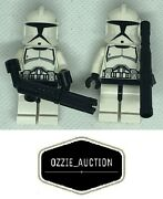 Lego Star Wars Clone Army Customs - Cac - Phase 1 Clone Trooper Lot Of 2 [8014]