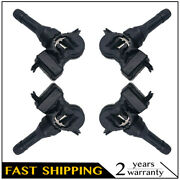 4pcs Universal 315mhz Tire Pressure Monitor System Tpms Fit For Ford Chevy Gmc