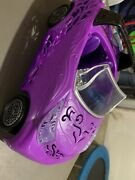 Monster High Scaris City Of Frights Convertible Car Purple Doll Vehicle