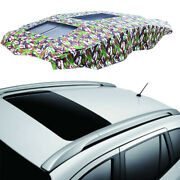 Car With Roof Rack Roof Sunscreen Cover Insulation Automatic Folding Telescopic