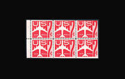 Us Air Mail Stamp-mint Ogandnh, F/vf Sc60a Booklet Pane