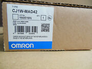 Fast Ship Omron Plc Cj1w-mad42 Free Expedited Shipping New