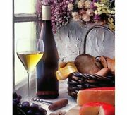 Diamond Painting Wine Glass Bottle And Food Designs Portrait House Wall Displays
