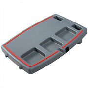 Stupid Car Tray Multi Function Food And Drink Travel Organizer, Gray/red 12 Pack