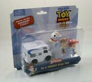 Disney Pixar Toy Story 4 Special Ed Runaway Forky Minis Rv And Friends Road Trip