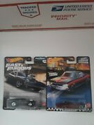 Hot Wheels 70 Dodge Charger R/t Fast And Furious And One 66 Pontiac Gto Boulevard