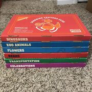 Learning Centers Club Kindergarten Educational Lot Of 6 Some Missing Pieces