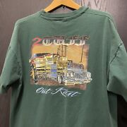 Vintage Outkast Tee Shirt 90s/00s 2 Tuff Two Dope Boyz In A Cadillac Fits Xl Rap