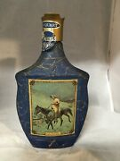 Jim Beam - Beam's Choice - On The Trail - Frederic Remington - Bottle Decanter
