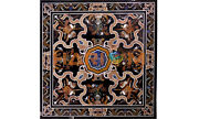 48and039and039 Marble Precious Dining Table Top Inlay Art Hallway Decortive Furniture B556