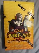 Overpower Classic Marvel 36 Count Sealed Box See Pictures For Box Condition